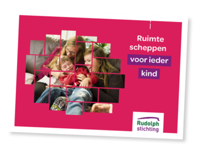 Folder van de Rudolphstichting